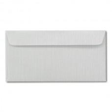 Конверт дизайнерский<br>ZETA Серый тисненый лен<br>120 г/м2