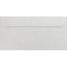 Конверт дизайнерский<br>BUKLET Metallics Linen White Белый<br>120 г/м2