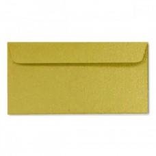 Конверт дизайнерский<br>BUKLET Originals Metallics Gold Золото<br>120 г/м2