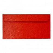 Конверт дизайнерский<br>BUKLET Spica Metallics Red Красный<br>120 г/м2