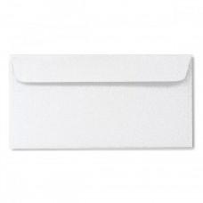 Конверт дизайнерский<br>BUKLET Spica Metallics White Белый<br>120 г/м2