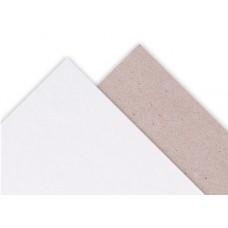 Картон для жесткой упаковки ESKAMONO бело-серый, 1075 г/м2