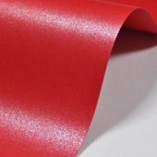 Бумага дизайнерская<br>MAJESTIC Императорский красный<br>290 г/м2