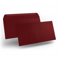 Конверт дизайнерский<br>BUKLET Leather Dark Red Темно-красный<br>120 г/м2