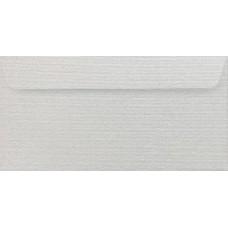 Конверт дизайнерский<br>BUKLET Metallics Needle Point Белый<br>125 г/м2
