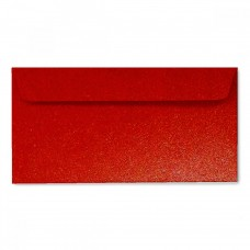 Конверт дизайнерский<br>BUKLET Galactic Metallics Ruby Satin Красный сатин<br>120 г/м2