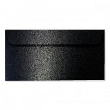 Конверт дизайнерский<br>BUKLET Spica Metallics Black Черный<br>120 г/м2