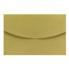 Конверт дизайнерский<br>TOPAZ Metallics Originals Gold<br>250 г/м2