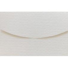 Конверт дизайнерский<br>TOPAZ Metallics Needle Point White Белый<br>250 г/м2
