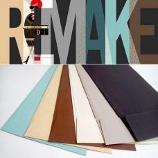 Конверт дизайнерский<br>REMAKE ЭКО Жемчужно-натуральный<br>120 г/м2
