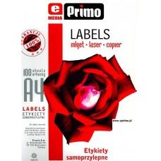 Самоклеящаяся бумага  ePrimo  А4, 1 фрагмент, 210×297 мм