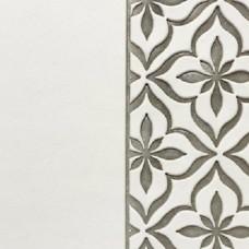 Переплётный материал ALPHA 3 BUTTERFLY 9A03 белый на серой основе 280 г/м2