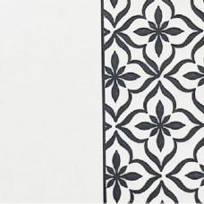 Переплётный материал ALPHA 3 BUTTERFLY 9A07 белый на черной основе 280 г/м2