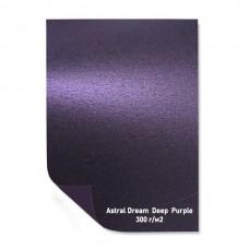 Бумага дизайнерская<br>ASTRAL DREAM DEEP PURPLE ПУРПУРНЫЙ<br>300 г/м2